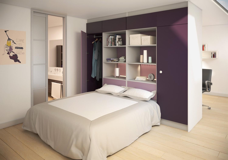 Guimard mat riaux for Dressing ouvert chambre