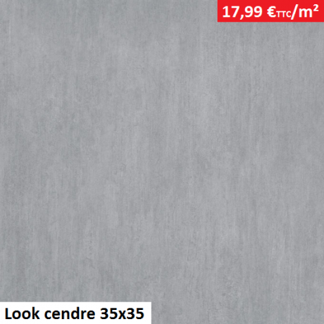 Look cendre 35x35