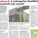 LE JOURNAL DES ENTREPRISES 2 MAI 2008